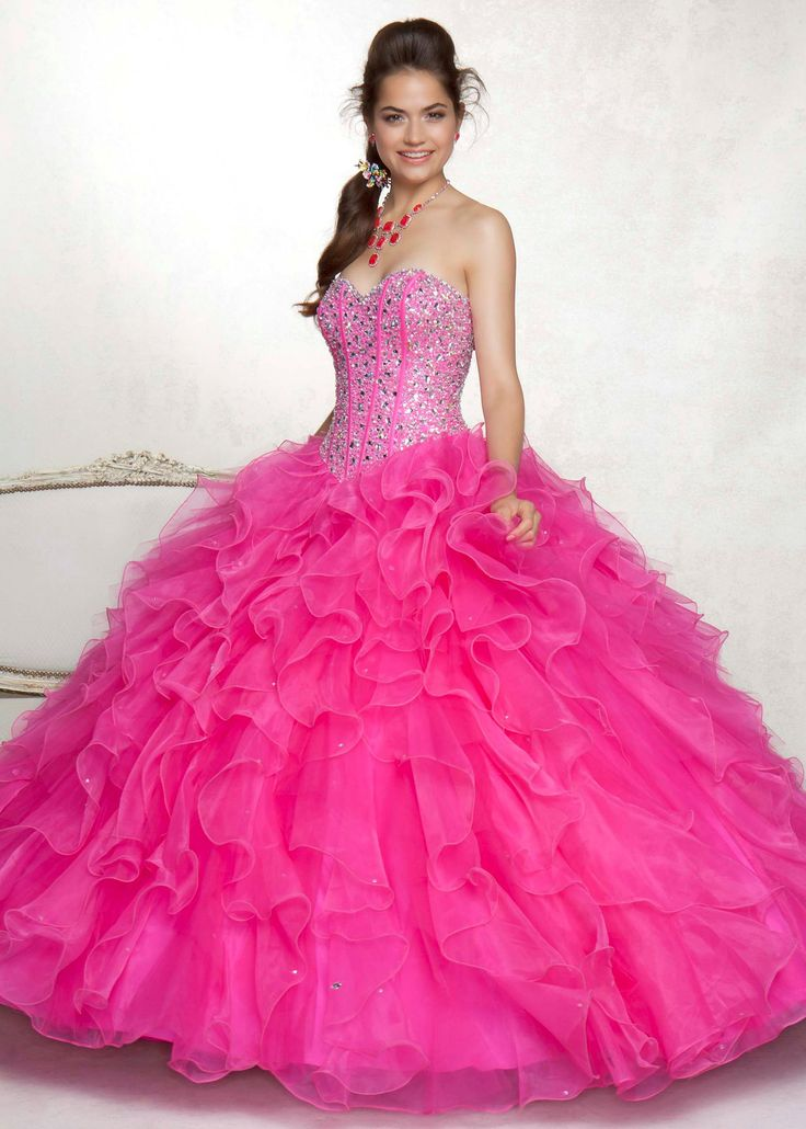 89 best images about PINK ballgowns (wedding) on Pinterest | Pink ...