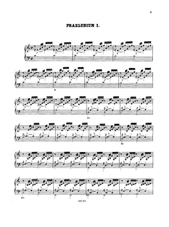 bach prelude no  1 in c major  page 1