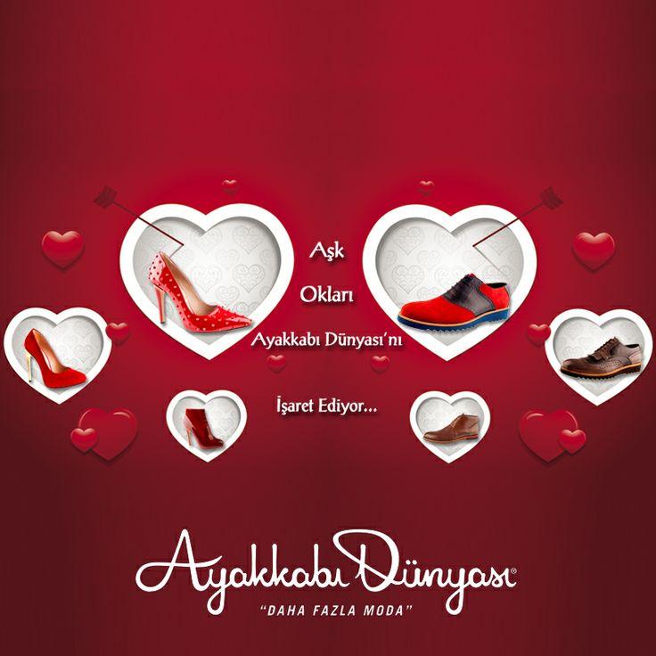 Aşk oklarını takip edin…  ;) www.ayakkabidunyasi.com.tr