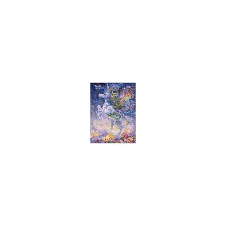 Josephine Wall - Soul of a Unicorn 2018 Pocket Diary (New) (Paperback)