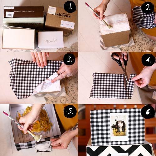 fabric covered storage boxes. use mod podge or gel medium.: Fabrics Storage, Hats Boxes, Cardboard Boxes, Covers Storage, Storage Boxes, Decor Boxes, Fabrics Covers Shoes Boxes, Fabrics Boxes, Fabrics Covers Boxes