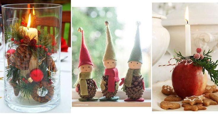 Más de 30 ideas para decorar esta Navidad