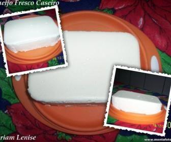 Receita de Queijo fresco caseiro facílimo - Show de Receitas