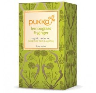 Pukka Herbs Lemongrass and Ginger Tea. Organic & Delicious | My Natural Necessities