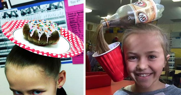 14+ Of The Best Crazy Hair Day 'Dos Ever | Bored Panda