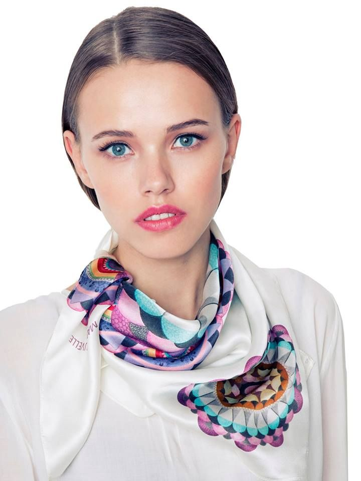 Haven't found the perfect gift for Mother`s Day? Don`t panic, we've got you covered with this delicate silk scarf! So Fragile Scarf by Marie Nouvelle available on www.bandofcreators.com.