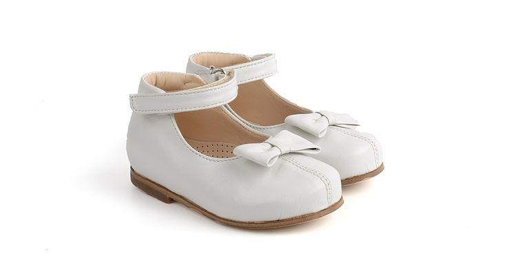 131/Panna Ballerina in pelle  con applicazione.  #galluccishoes #kids #shoes #ballerine #pelle #babygirl #SS16