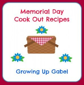 memorial day cookout suggestions