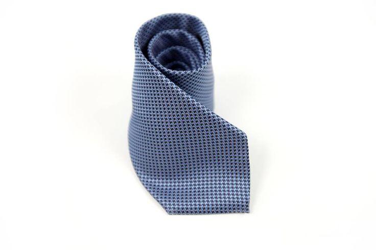 Krawat Elephant w kolorze niebieskim.