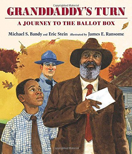 MOCK CALDECOTT SPRING 2016: Granddaddy's Turn, illustrated by James Ransome - MAIN Juvenile PZ7.B2142 Gr 2015   - check availability @ https://library.ashland.edu/search/i?SEARCH=9780763665937