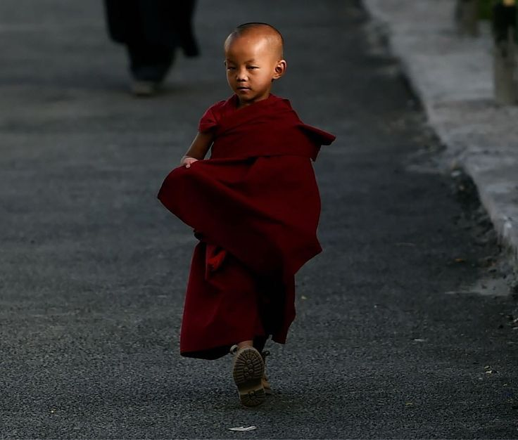 FT Photo Diary 📸: A young Buddhist monk attends the 'Degon Yarchos Chenmo 2017' (Buddhist Summer Council) at the Diskit monastery in the Nubra Valley in India's Ladakh region near the Chinese border on July 12, 2017. China and India have engaged in countless spats over the Tibetan community since New Delhi granted sanctuary in 1959 to Dalai Lama, who celebrated his 82nd birthday in Ladakh on July 6, 2017.  See more photos from around the world at FT.com/week-in-pictures 📷: MONEY…