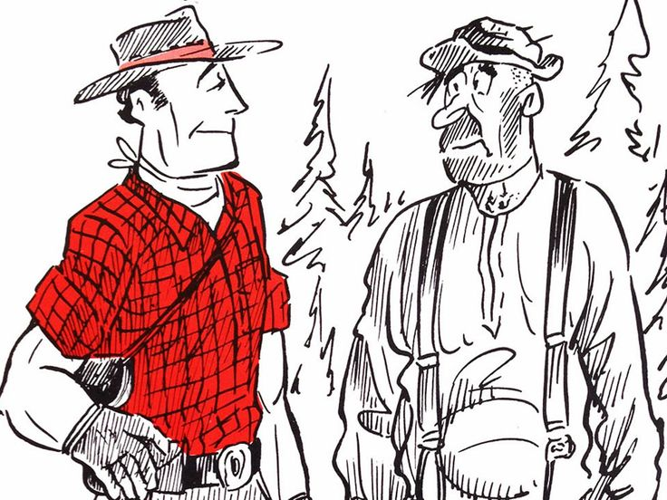 This iconic cartoonist, artist and humorist, provides a look back at early life in BC's logging industry from donkeys to trucks.