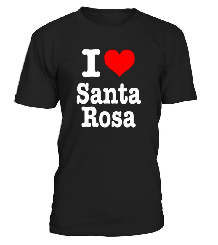 Do you love Santa Rosa? This is the perfect shirt for someone from Santa Rosa, someone who just got back from Santa Rosa or if you just want to show off your Santa Rosa Pride! Show your Santa Rosa spirit all day long with our custom I Heart Santa Rosa Shirt! This funny Santa Rosa shirt is great for a Santa Rosa Souvenir Shirt in case you forgot to pick one up while visiting!