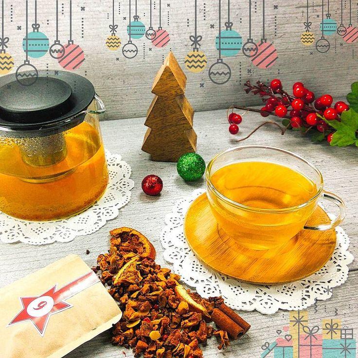 """Hallo liebe Teefreunde   Tag 9 - Türchen 9   Heute als #21uhrtee präsentieren wir Ihnen eine Tee Sorte aus unserem Sortiment. Es ein Früchteteemischung N072 mit Mandel - Orange Note  """"Macht hoch die Tür die Tor macht weit - Weihnachten  ist Tee Zeit!""""  Wir wünschen euch allen einen schönen und gemütlichen Abend   #21uhrtee #tee #teelux #teeliebhaberin #teeliebhaber #teeliebe #teegenuss #teeabend #teeladen #Weihnachtsduft #Mango #mangotee#orangentee #русскаягермания #русскийберлин #früchtetee…"""