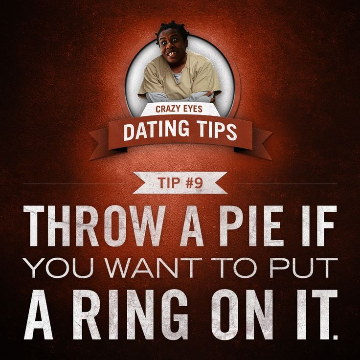 orange is the new black dating tips This pin was discovered by joe discover (and save) your own pins on pinterest.