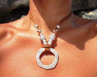 Collares únicos collar de perlas collares de Popular por kekugi