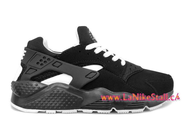 Nike Air Huarache Officiel Basket Pas Cher Chaussures Pour Homme Noir Blanc 318429-008