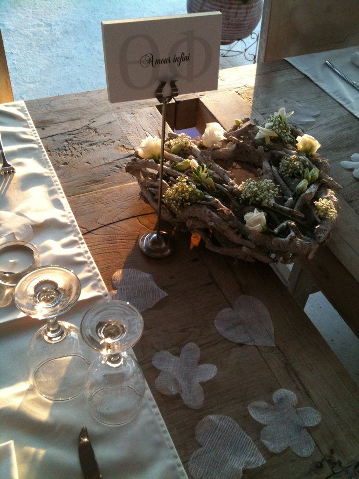 table decor at kaiki spetses