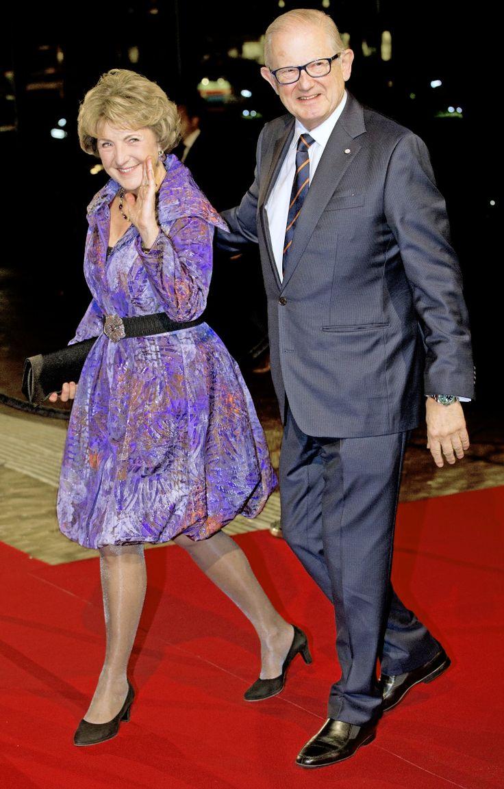 koninklijkhuis: Dutch Royal Family Celebrates Pieter Van Vollenhoven's 75th birthday, December 8, 2014-Princess Margriet and her husban Pieter Van Vollenhoven