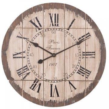 Krásne drevené hodiny, ktoré sú perfektným Vianočným, a nielen Vianočným, darčekom. http://www.carovny-domcek.sk/bytove-doplnky/hodiny-zrkadla/hodiny-brown