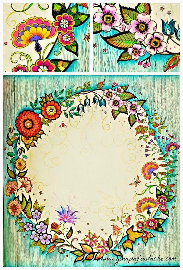 decoracao jardim secreto : decoracao jardim secreto:Secret Garden Coloring