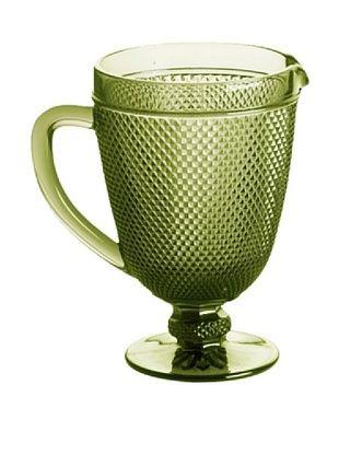 35% OFF Rosanna Pressed Glass 40-Oz. Pitcher, Olive