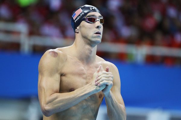 Michael Phelps Photos Photos - Michael Phelps of the United States ahead of the second Semifinal of the Men's 200m Butterfly on Day 3 of the Rio 2016 Olympic Games at the Olympic Aquatics Stadium on August 8, 2016 in Rio de Janeiro, Brazil. - Swimming - Olympics: Day 3