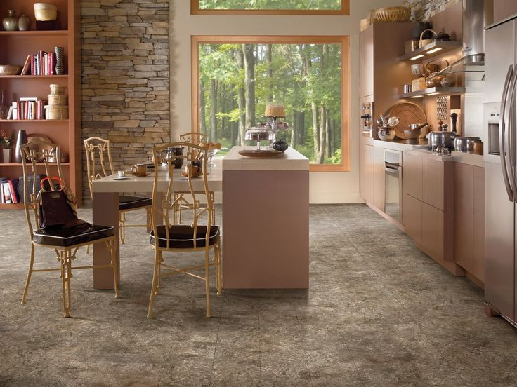 Riverbed Sandstone Raisin Vinyl Flooring