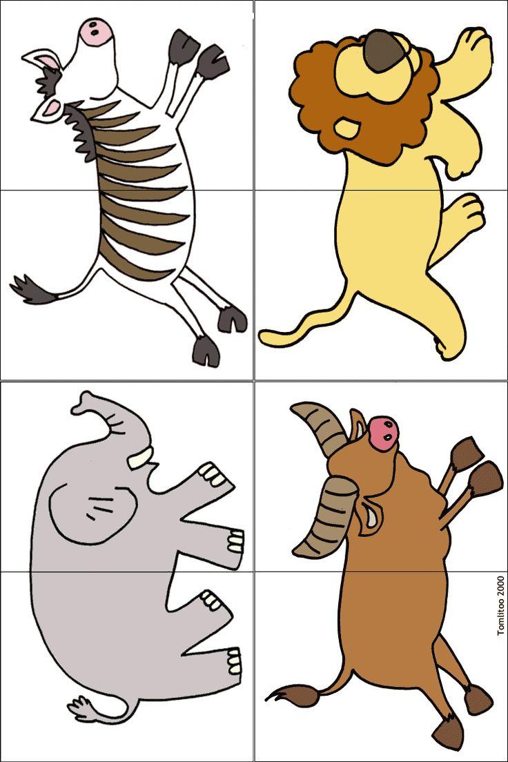puzzel met leeuw