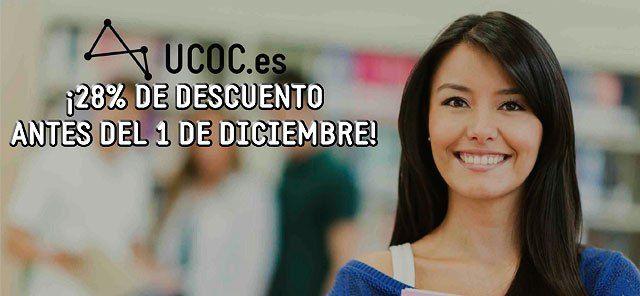 ¡Hasta un 28% de descuento si te matriculas antes del 1 de diciembre! > http://formaciononline.eu/ultimos-dias-con-28-de-descuento-en-todos-los-ciclos-formativos-que-imparte-ucoc/