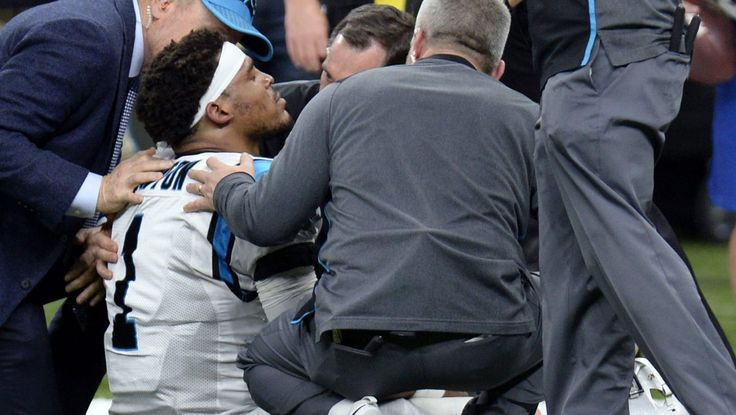 Panthers admit Cam Newton embellished injury to buy time.   http://ift.tt/2AIox2U  Submitted January 08 2018 at 09:04PM by ahydell via reddit http://ift.tt/2AH1p4Y
