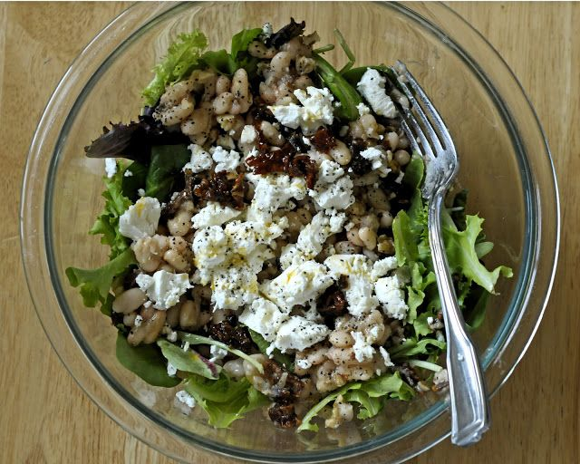 Warm Mushroom, Sun Dried Tomato And Goat Cheese Salad Recipes ...