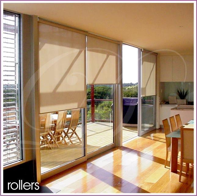 window treatments for sliding glass doors roller blinds - Sliding Glass Door Window Treatments