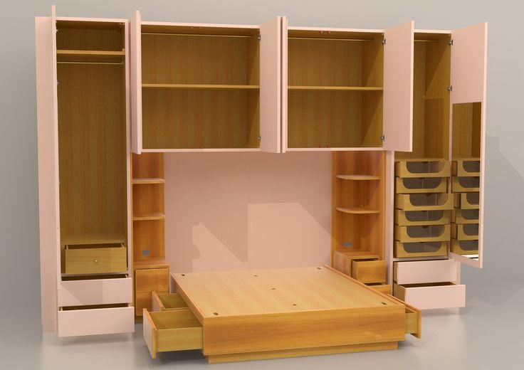 ... camera da letto dellappartamento, Decorazione camera da letto fai da