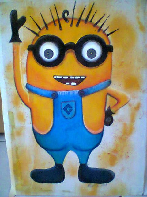 My attempt at a Minion..... SOLD !