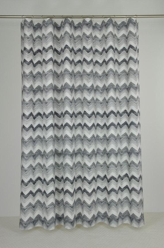 black white chevron shower curtain. Grey  Black Chevron Shower Curtain 29 best curtains images on Pinterest shower