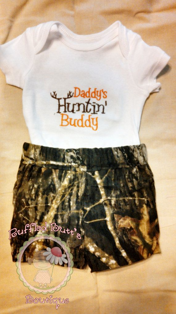 Camo Onesie Short Set READY TO SHIP On by RuffledButtsBoutique, $18.00