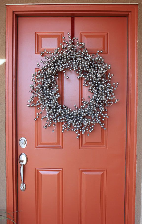 Creatively Christy Christmas Wreath Make Over Good Christmas Color