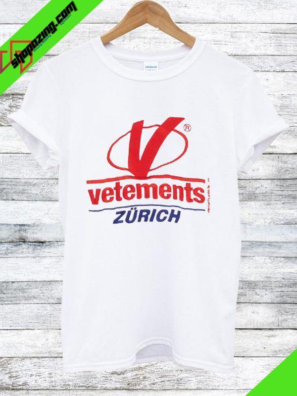 Vetements Zurich T Shirt T Shirt Pinterest Shirts T Shirt And