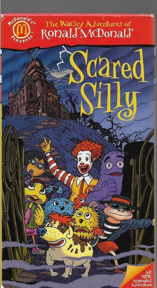 The Wacky Adventures Of Ronald McDonald Scared Silly Animated Movie free download HD 720p