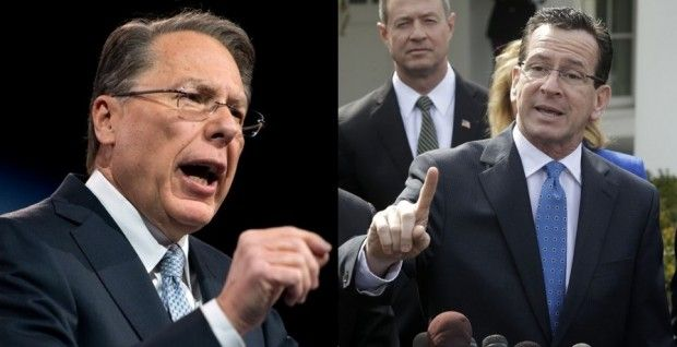 Connecticut Gov. Savages Wayne LaPierre: 'This Guy Is So Out of Whack, It's Unbelievable'. --- Anyone that uses common sence is a wacko to the libs. We need the 2nd ammendment to protect us from our government thugs. I'm not an NRA member but Mr LaPierre is the person useing common sence.