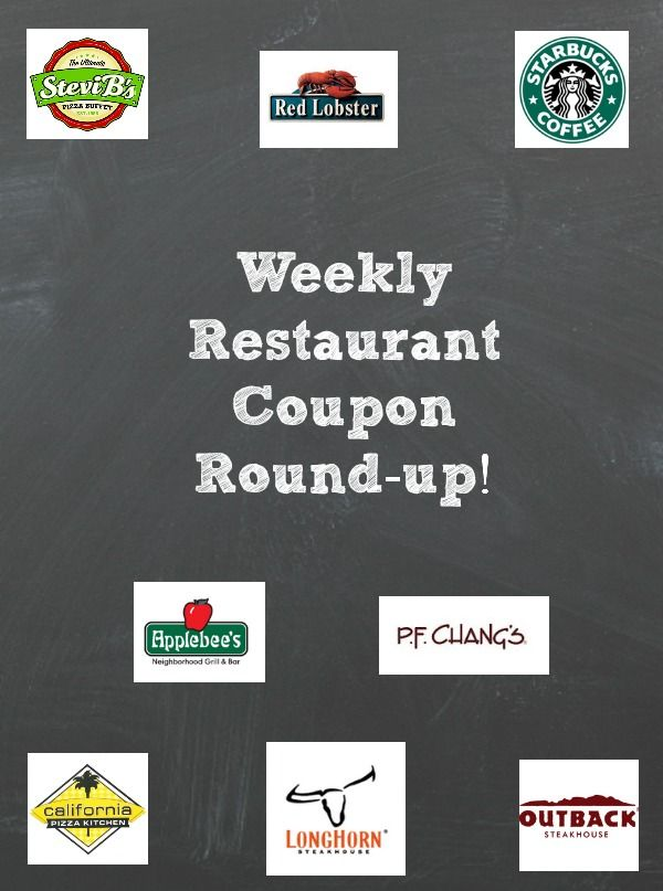 52 Best Restaurant Coupons Freebies Images On Pinterest Birthdays Restaurant Coupons And