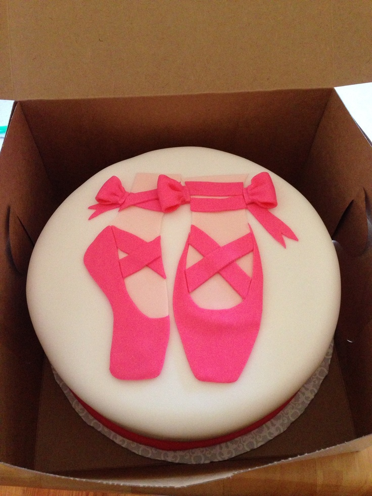 Ballerina Cake With Fondant Cakes And Stuff Pinterest
