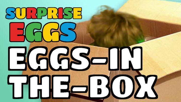 Surprise Eggs Eggs-In-The-Box!
