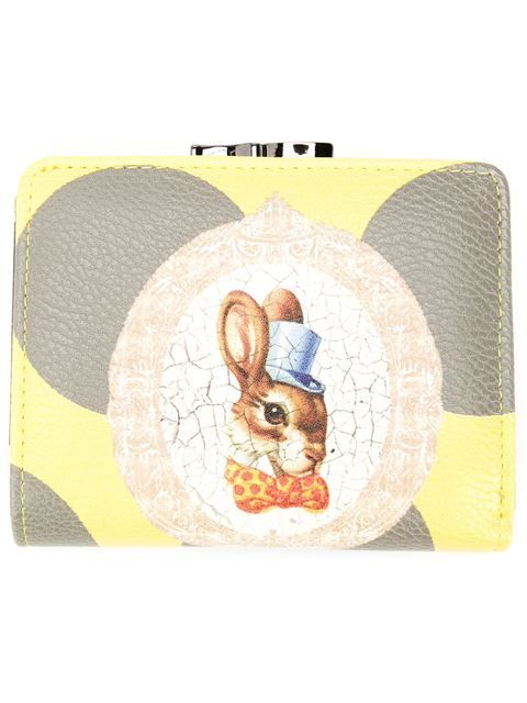 Shop Vivienne Westwood bunny print wallet  in Anastasia Boutique from the world's best independent boutiques at farfetch.com. Shop 300 boutiques at one address.