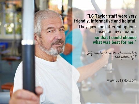 Testimonial from a self-employed construction worker and father of 3. http://lctaylor.com/about/testimonials/