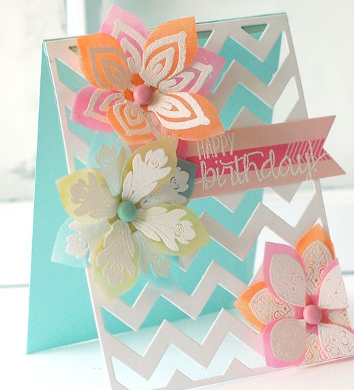 Card by Betsy Veldman  (061413)  [Papertrey Ink  Clearly Creative Cardstock]