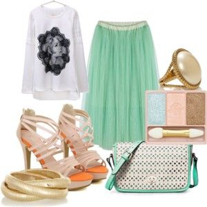 Fashionholic Girl: 5 ways to wear tulle skirt http://realfashionholicgirl.blogspot.com/2014/03/5-ways-to-wear-tulle-skirt.html
