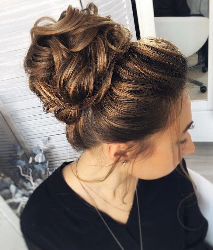 Messy wedding hair updos | itakeyou.co.uk #weddinghair #weddingupdo #weddinghairstyle #weddinginspiration #bridalupdo