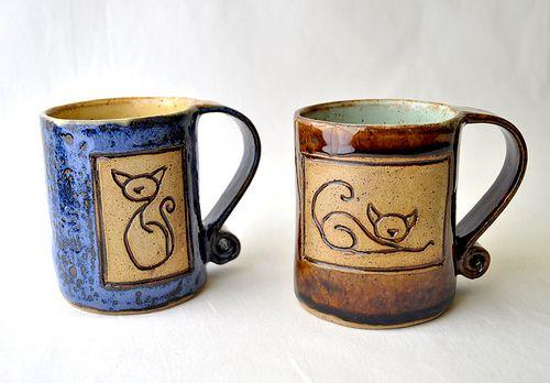 kitty mugs